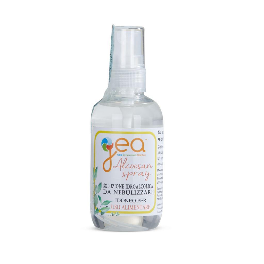 Spray Igienizzante mani e superfici con 79% alcool alimentare