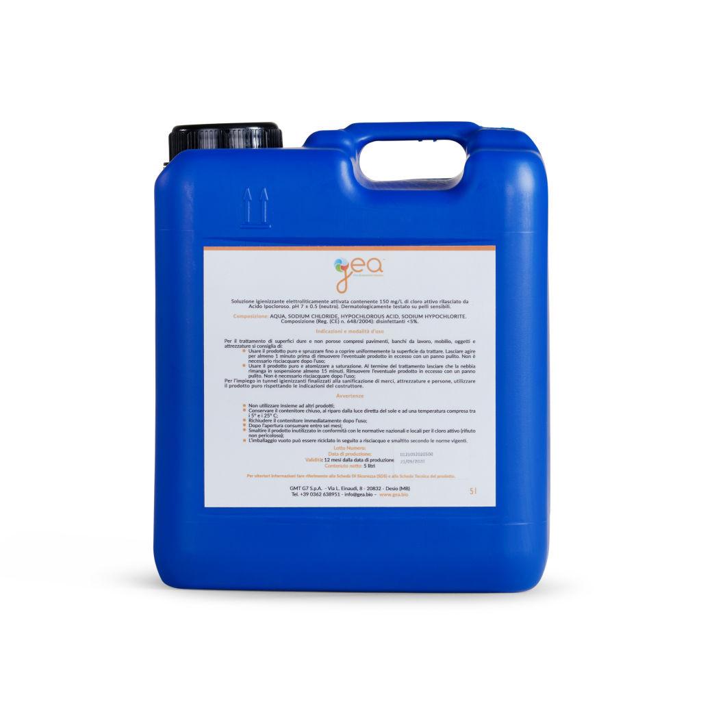 Acido ipocloroso 150 ppm -...