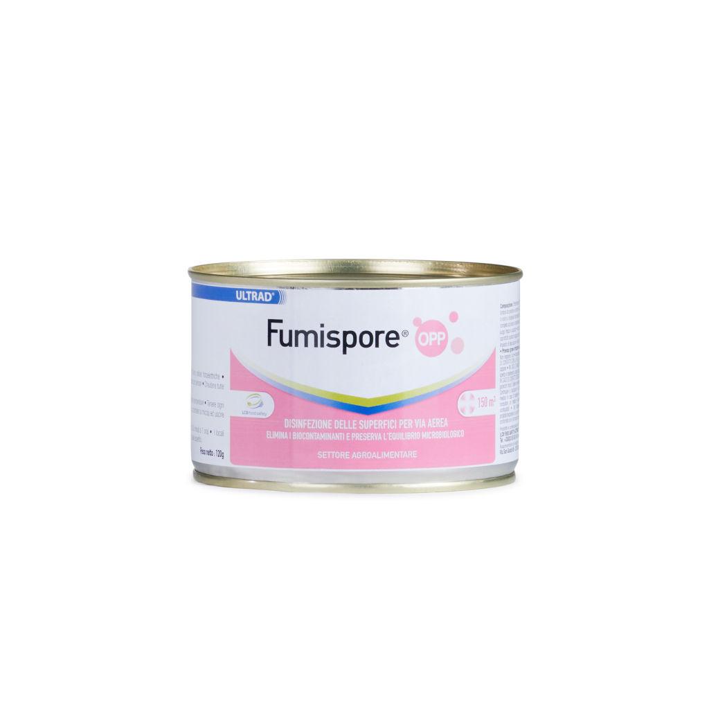 Disinfettante Fumispore OPP – Elimina fino al 99,99% batteri, muffe, lieviti e funghi – per volumi di 150 – 300 m3