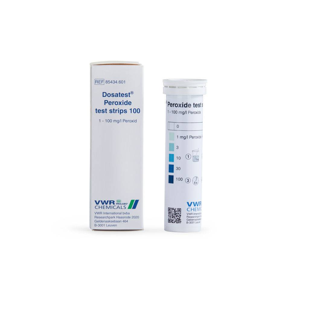 Peroxide test strips  –...