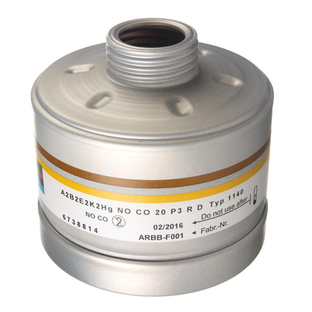 Filtro Dräger X-plore® 1140 A2B2E2K2 HgNO/CO P3 RD